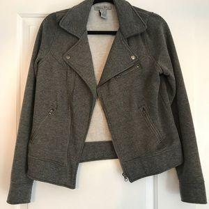 Women's zip up blazer sz S